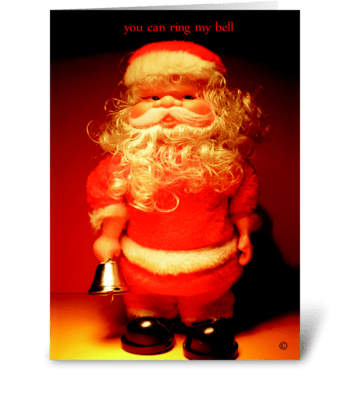 You can ring my bell greeting card