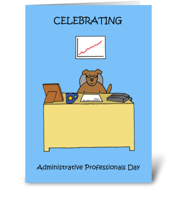 Administrative Professional Day greeting card