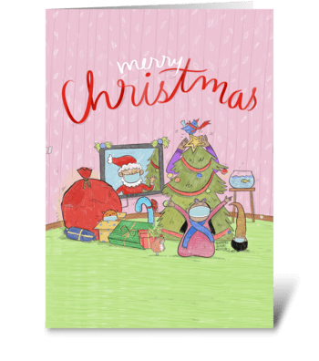 Xmasscovid greeting card