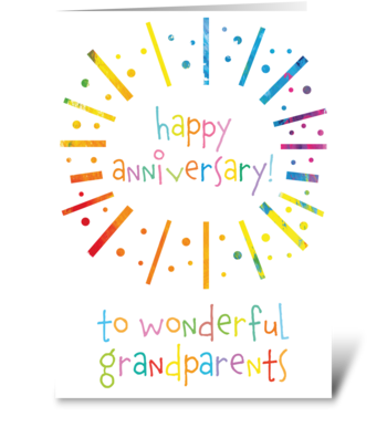 71 Grandparents Anniversary greeting card