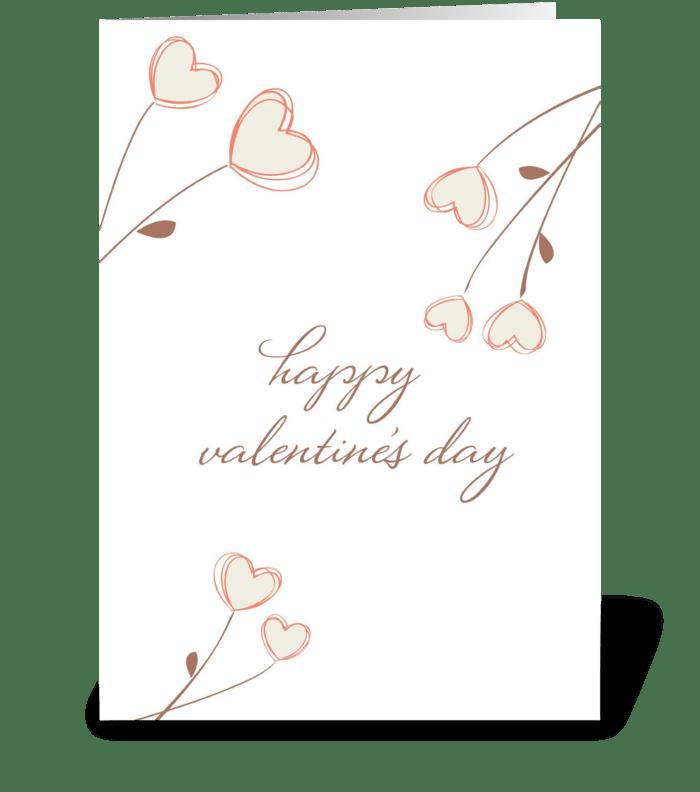 Love Blooms greeting card