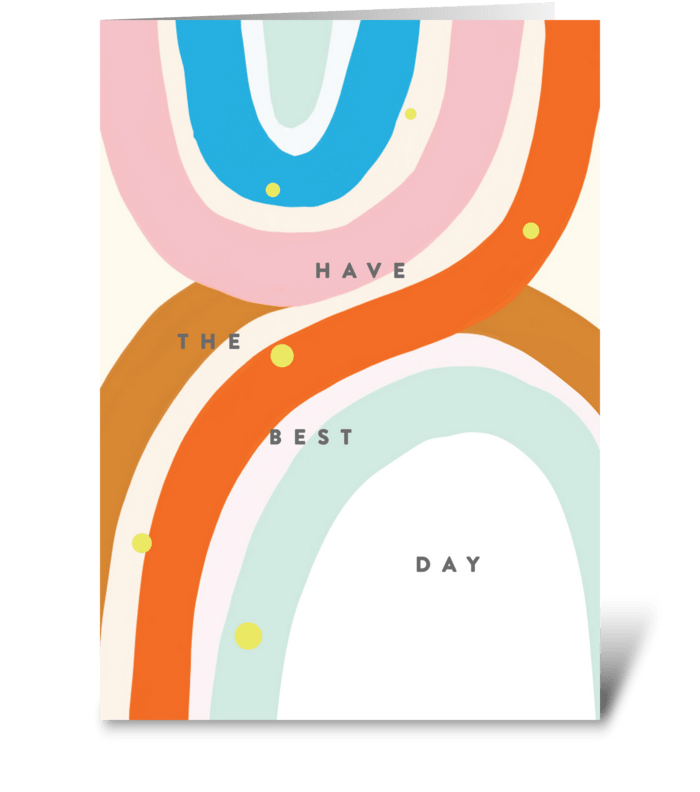 Best Day  greeting card