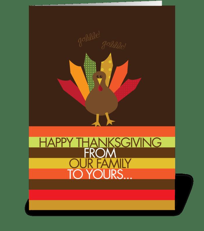 Ready for Turkey greeting card