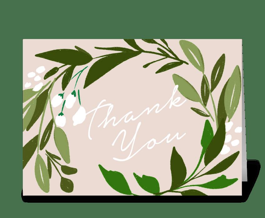 Perennial greeting card