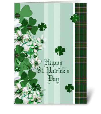 St. Patrick's Day Greeting greeting card