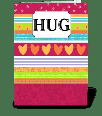 Big Hug - Thinking of You greeting card