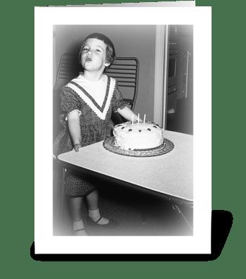 Birthday Sentiments greeting card