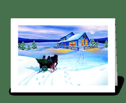 Homeward Bound greeting card
