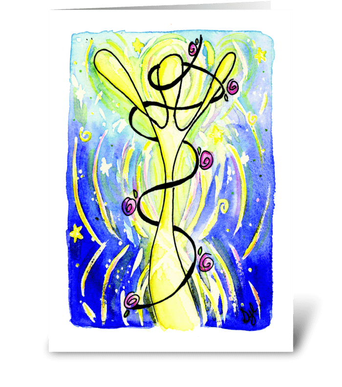 Celebrate! Decorate Soul greeting card
