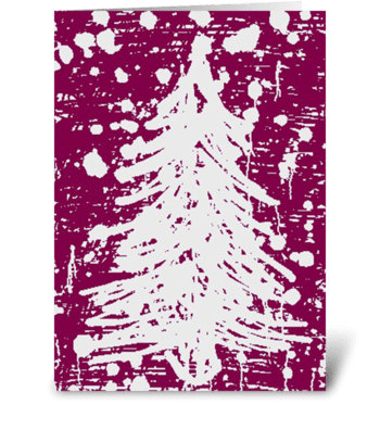 Christmas Tree don't you see. greeting card