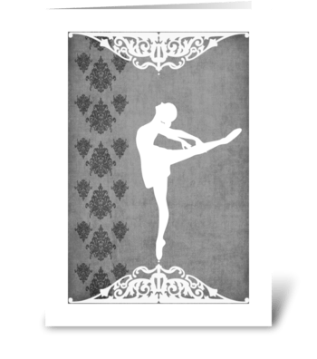 Ballet Series 2 greeting card