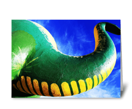 Route 66 Dinosaur greeting card