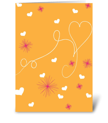Heartstrings greeting card