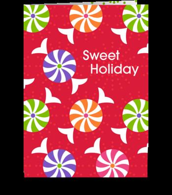 Sweet Holiday greeting card