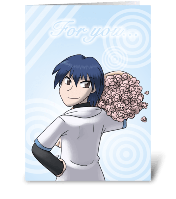 Love Letter greeting card