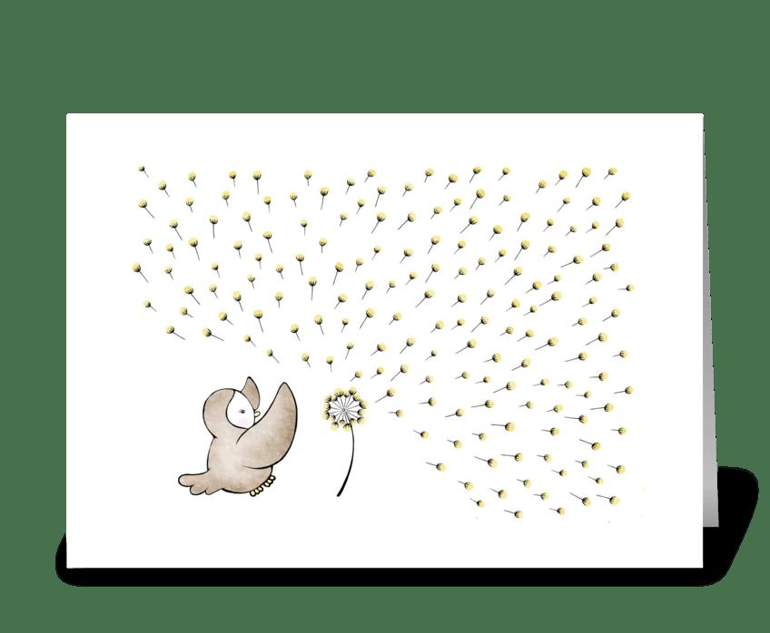 Birthday Wish greeting card
