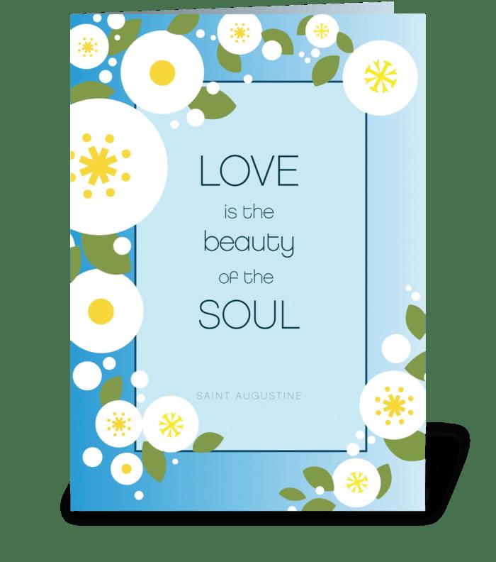 Anniversary Love greeting card