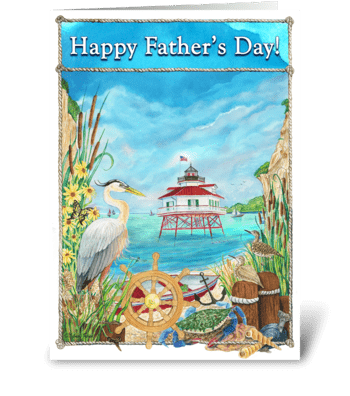 A Father's Day Card greeting card