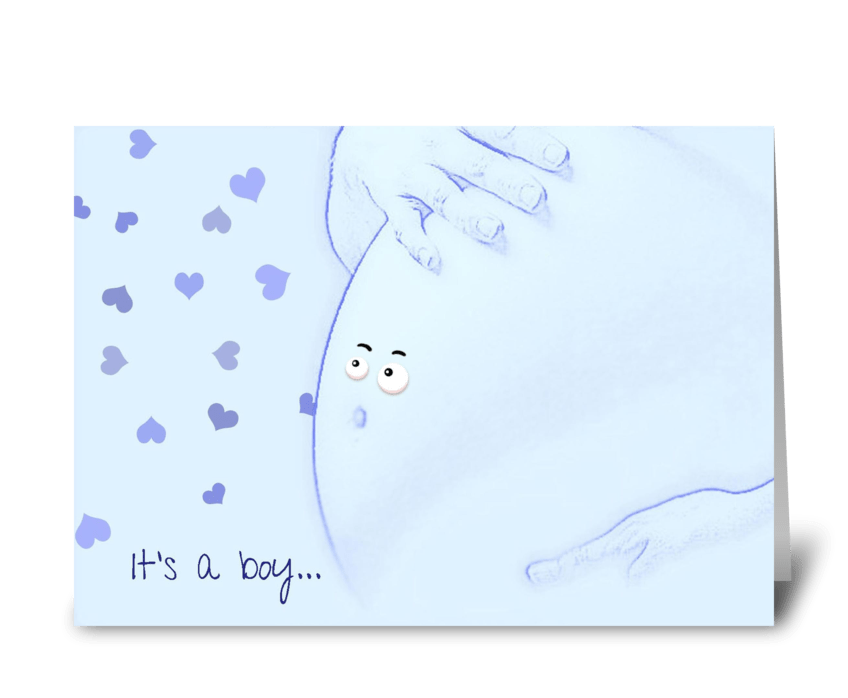 It's a boy... greeting card