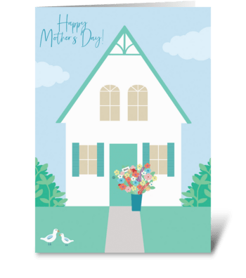 Mother's Day Flower Delivery greeting card