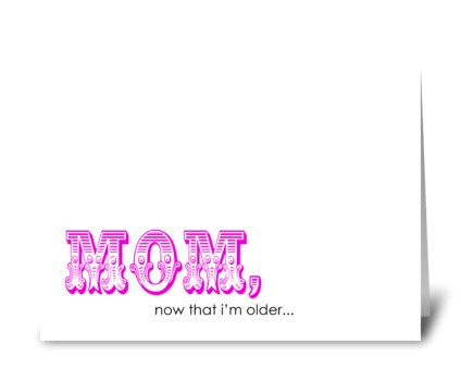 Suck as Much - Mom greeting card
