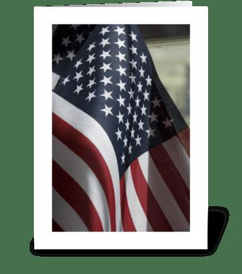 America the Beautiful greeting card