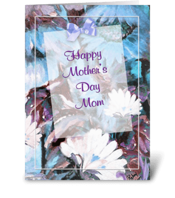 Daisy ART, Mother's Day Greeting greeting card