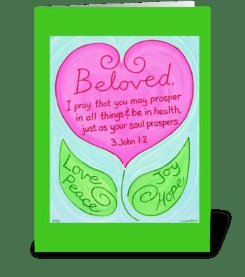 Abundant Life greeting card