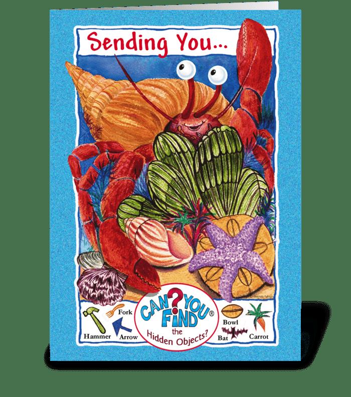 Birthday Card Games greeting card