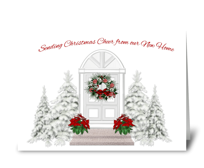 Christmas Greeting Card Images.Christmas Greetings From New Home