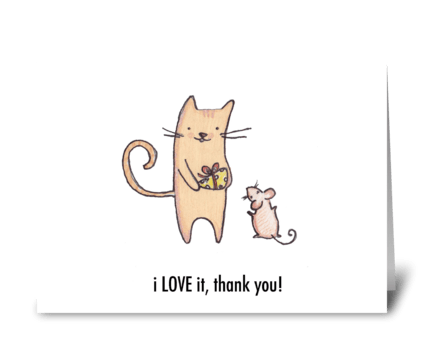 Thanks for the Cheese! greeting card