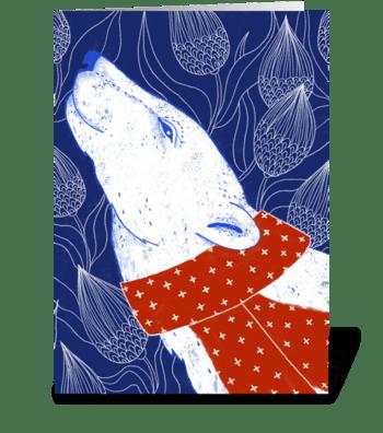 Polar Bear NOEL  greeting card