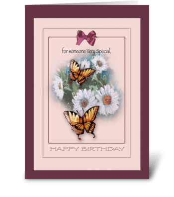 Someone Special, Happy Birthday Greeting greeting card