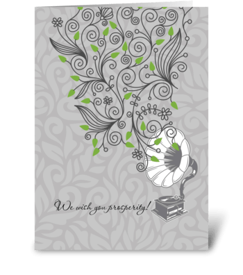 Prosperity_growing greeting card