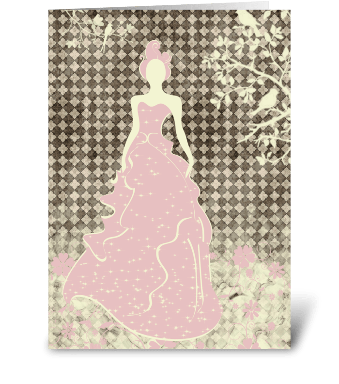 Bride Series 3 Full greeting card
