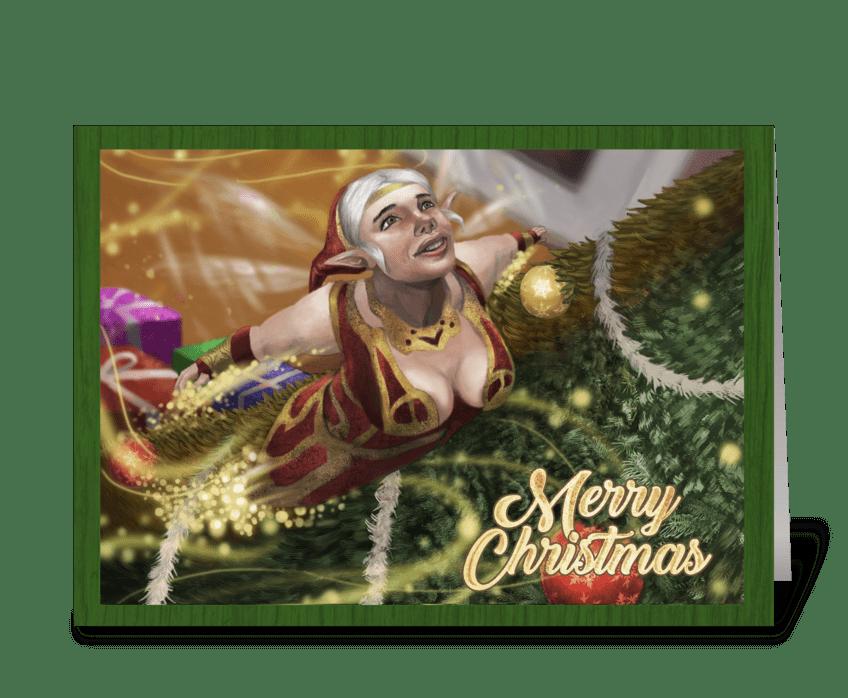 Chrismas_card_2 greeting card