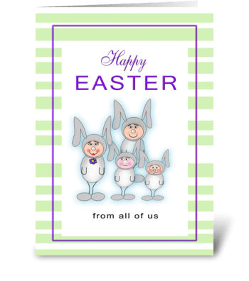 Happy Easter from All greeting card