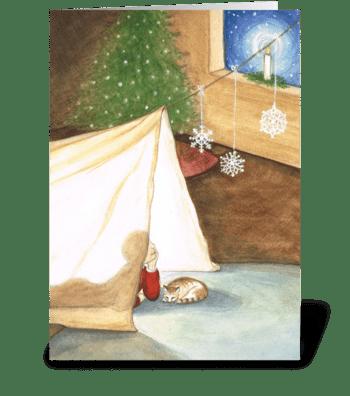 Believe - Christmas greeting card