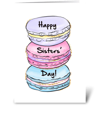 Cookie Sisters greeting card