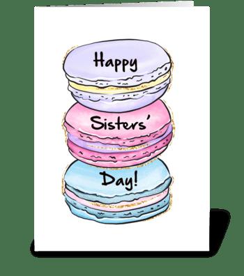 Cookie Sisters greeting card