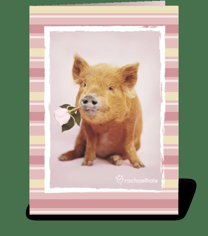 You had me at hello! greeting card