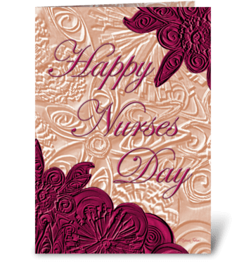 Happy Nurses Day! greeting card