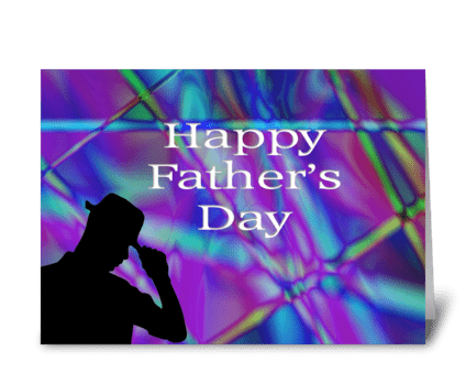 Happy Father's Day digital  greeting card