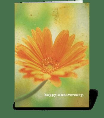 happy anniversary. greeting card