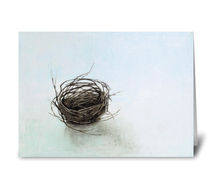 nest forgotten greeting card