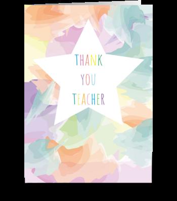 53 Thank You Teacher greeting card