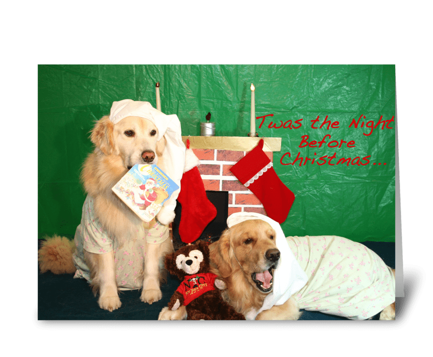 A Cozy Little Christmas greeting card