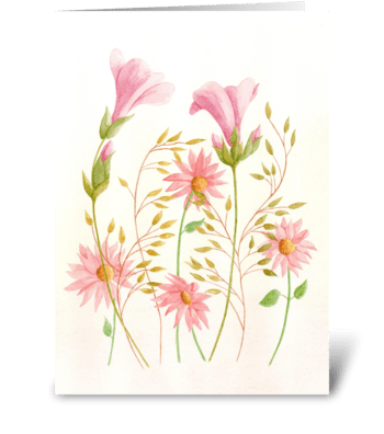 Garden Treasures greeting card