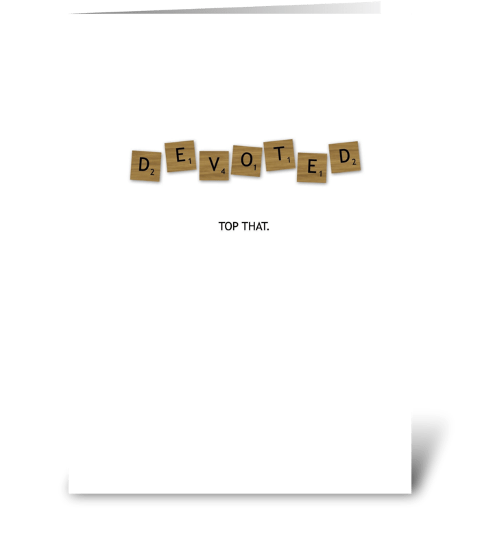Top That! greeting card