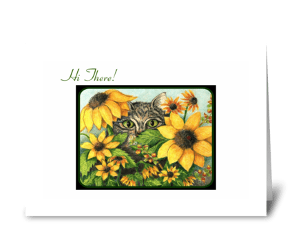 I See You! greeting card
